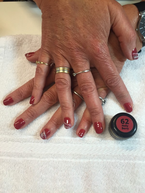 Pose de gel couleur bio sculpture