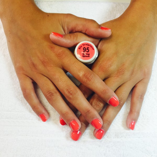 Capsules gel couleur bio sculpture