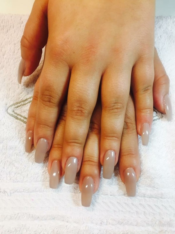 POSE DE CAPSULES & GEL COULEUR BIO SCULPTURE
